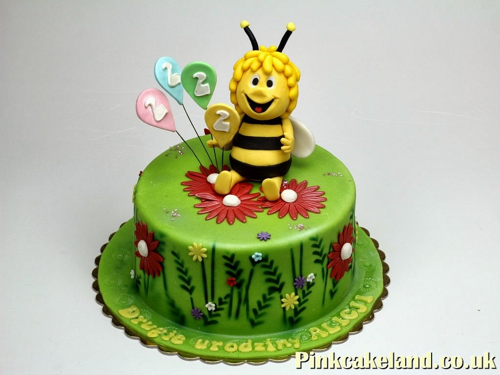 Maya the Bee Birthday Cake, London