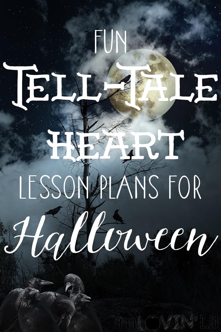 More Halloween Fun The Tell Tale Heart Peek At My Week Im