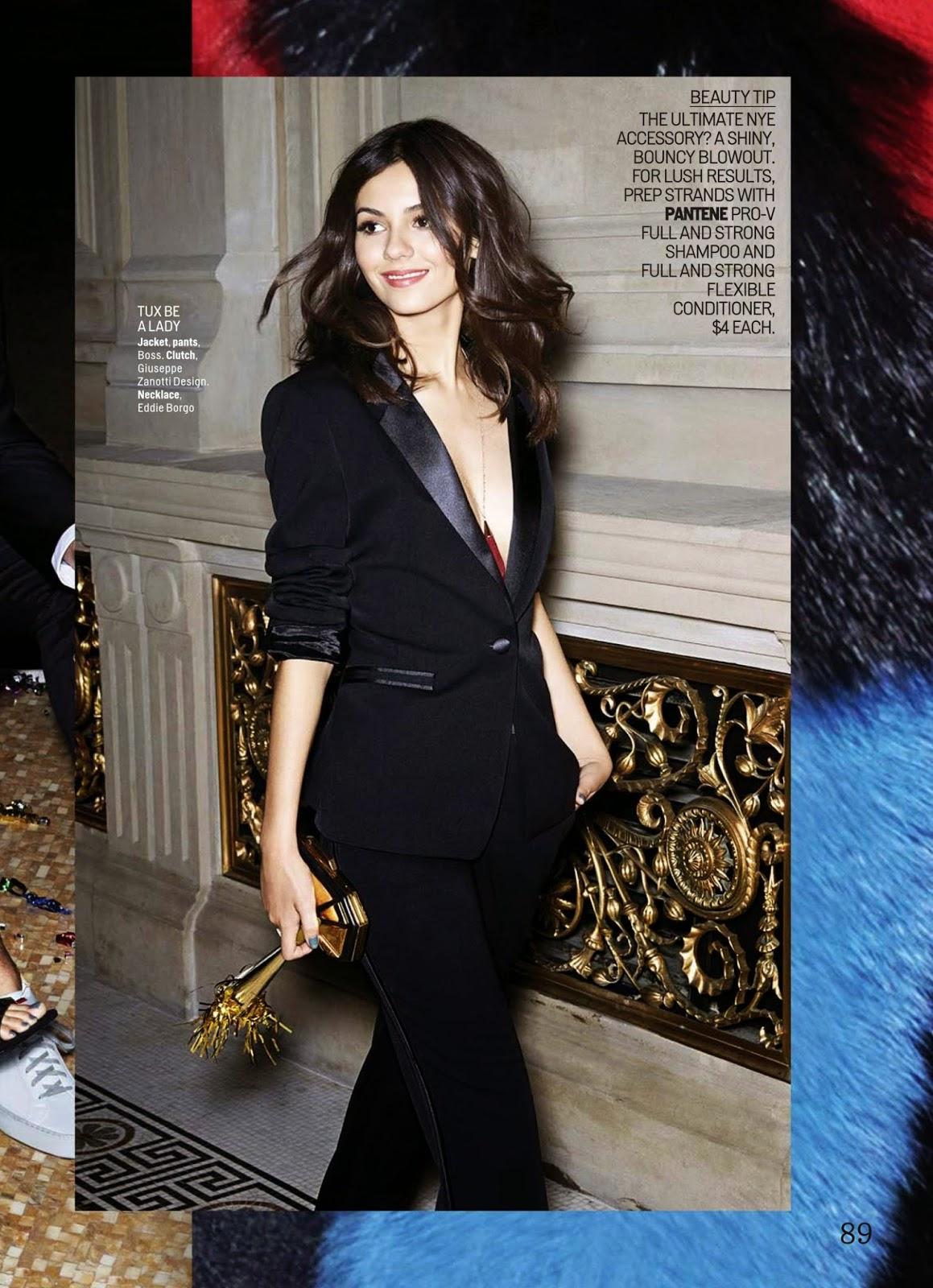 Victoria Justice Magazine Photoshoot