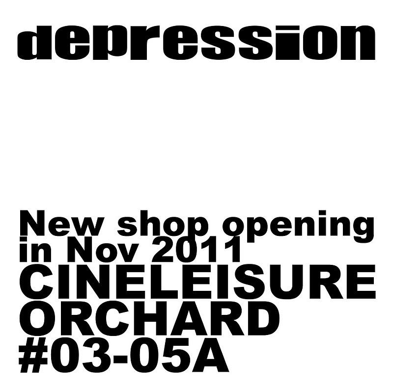 depression singapore new flagship store