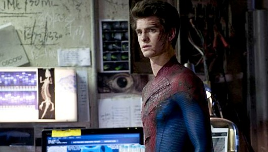 Andrew Garfield in The Amazing Spider-Man 2012 Movie