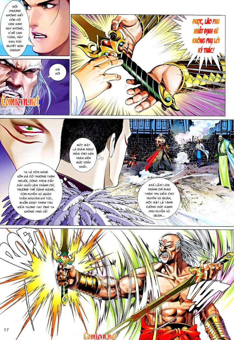 Phong Vân chap 629 Trang 17 - Mangak.info