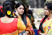 Basanta Utsab: Latest photos of spring Festival in Dhaka on 13 February 2013