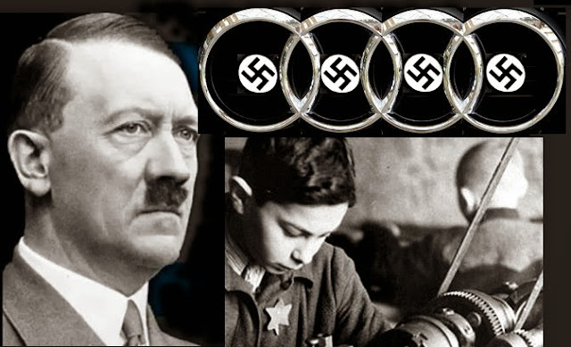Audi built by Jewish slaves