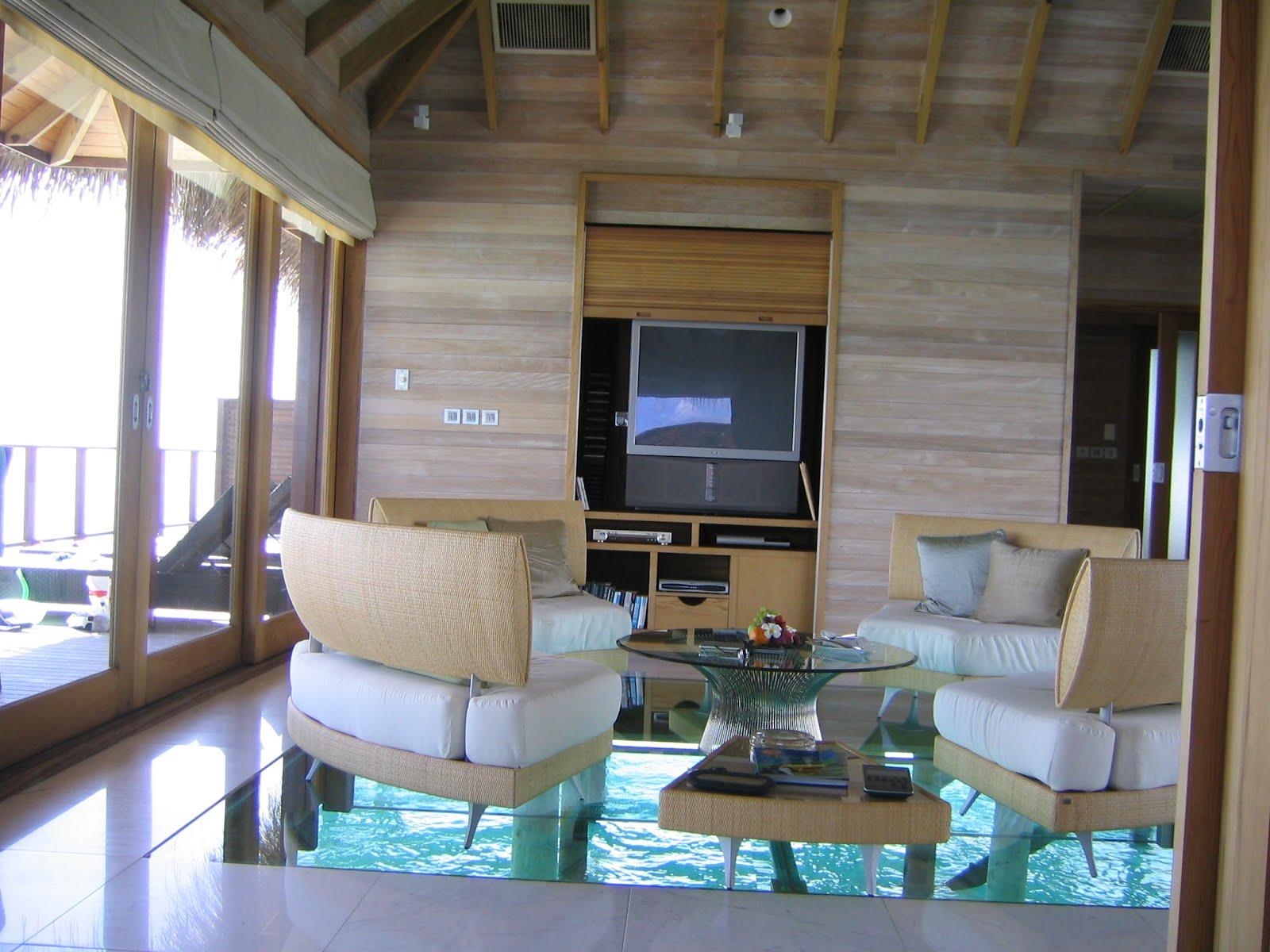 Island MED Villa og ANSATTE kvartalene - Maldivene, Asia - Private Islands TIL Salgs