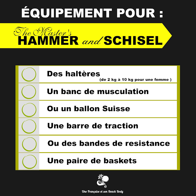 équipement pour the Master's Hammer and Shisel