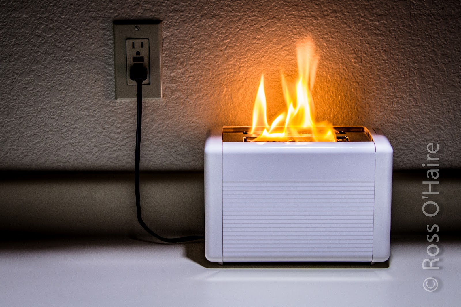 Toaster On Fire ~ Visualization