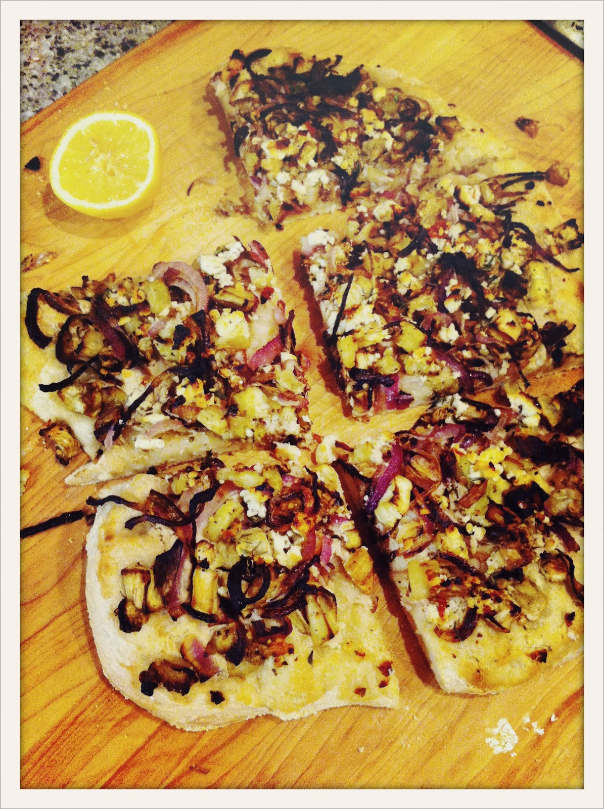 how to make eggplant on pizza