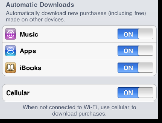 Automatic Download iPhone