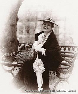 Anna Amnell 1900-luvun alun asussa