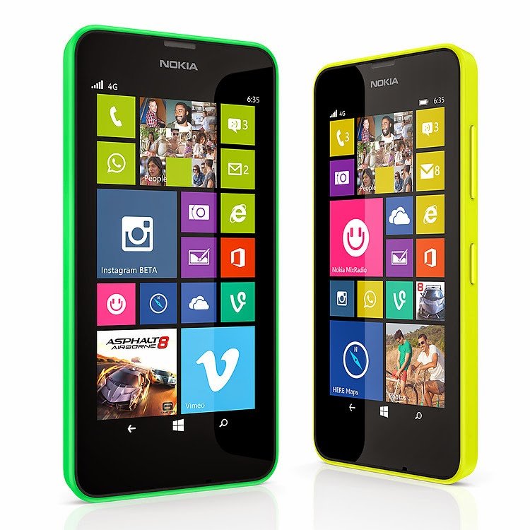 Nokia Lumia 1820 Nokia Lumia 635 4g Smartphone Review Price Full Specifications