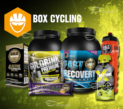 Box Cycling Gold Nutrition