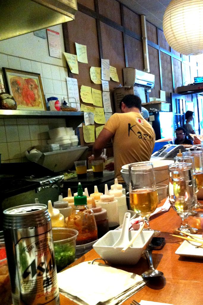 Kazu Restaurant Montreal Menu