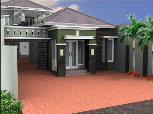Desain teras rumah elegan