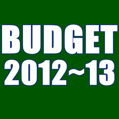 Pakistani Budget 2012-2013