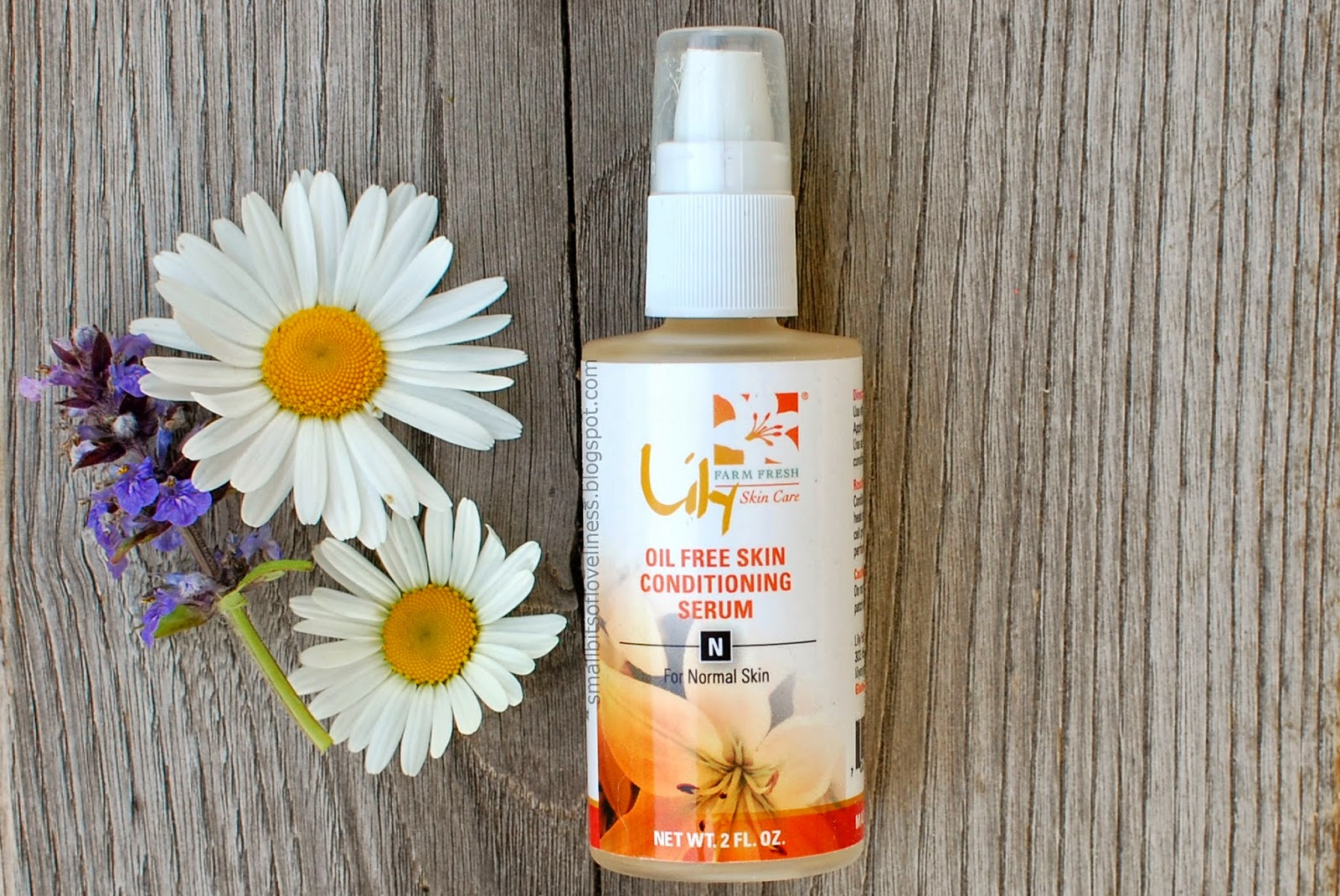 Lily Organics Farm Fresh Oil Free Skin Conditioning Serum for Normal Skin