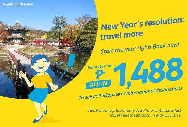 New Year Promo Domestic and International Flights