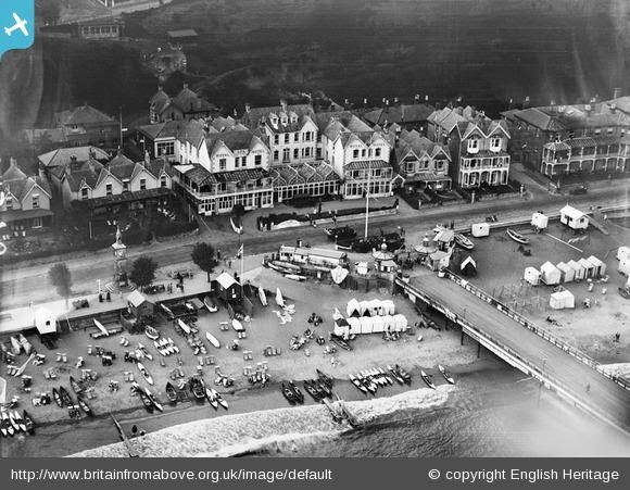 The Royal Spa Hotel And Seafront Shanklin 1928 Epw024578