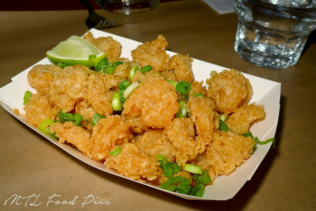 Popcorn Shrimp - Tex-Mex Food