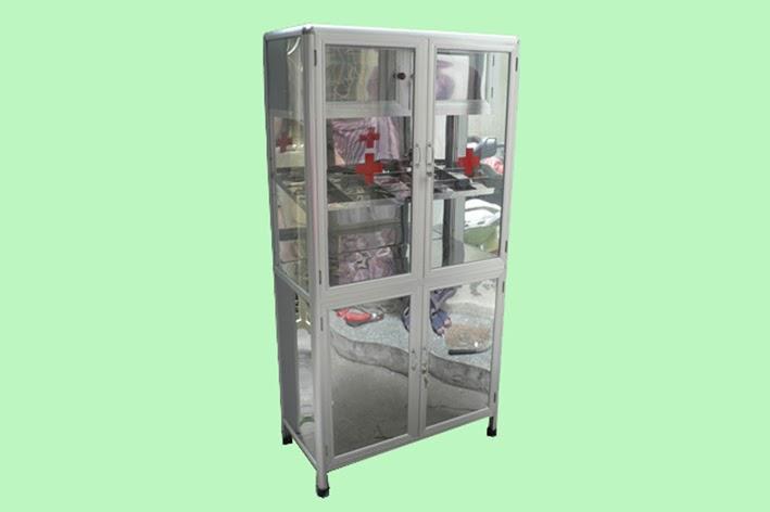 tủ thuốc nhôm kiếng 2