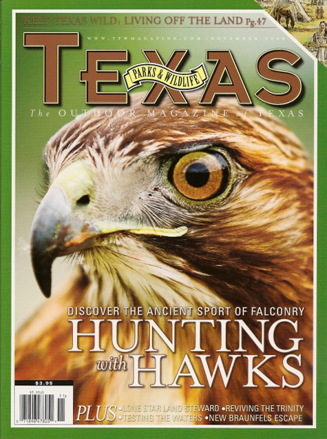 Texas Parks & Wildlife Hawk Cover