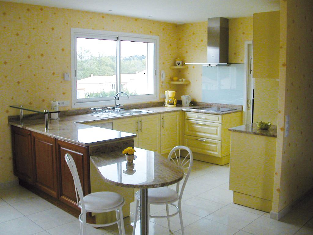 Kitchen contemporary wallpaper design for Kitchen wallpaper decor