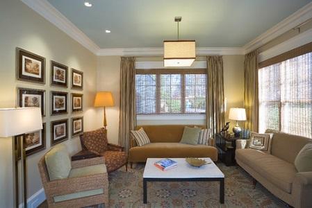 Living Room Pendant Lighting Ideas White Futons Gray Sofa Rug