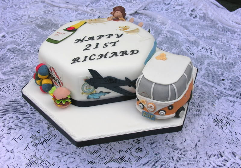 Birthday cakes idea august 2012 for instance if he is a choose a cake that resembles a gavel may be used a violin or guitar shaped cake could be made correspondingly for a violinist and sciox Images