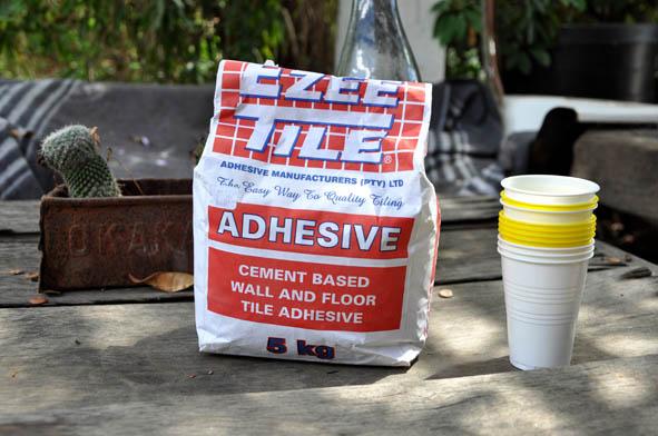 Как сделать клей-цемент