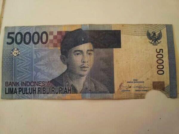 4 Jenis Uang Rusak Yang Sering Terjadi Di Indonesia