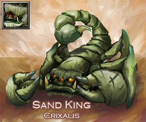 Sand King Item Build