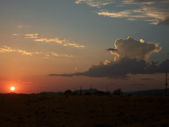 Sunset with Thunderhead