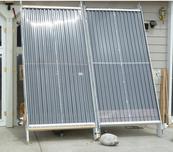 build it solar blog solar air heating collector testing