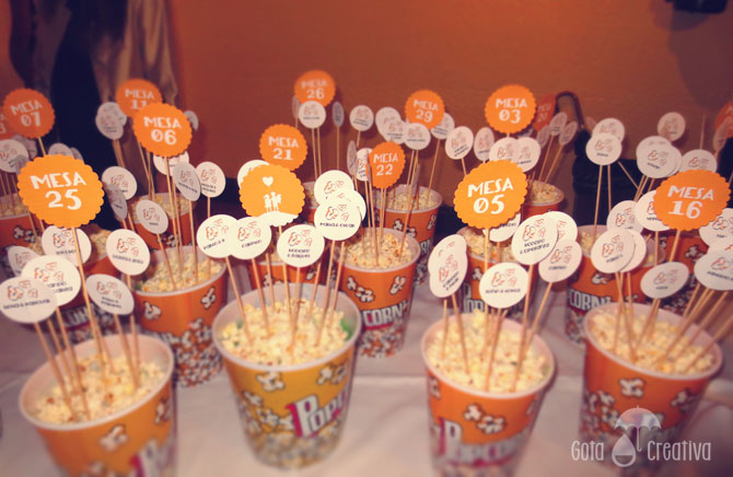 seating plan palomitas Gota Creativa