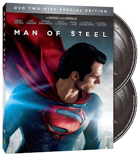 'Man of Steel' on sale on dvd and blu-ray