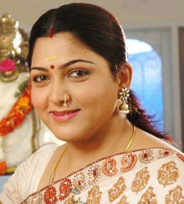 Indian Actress Kushboo – Family Photos