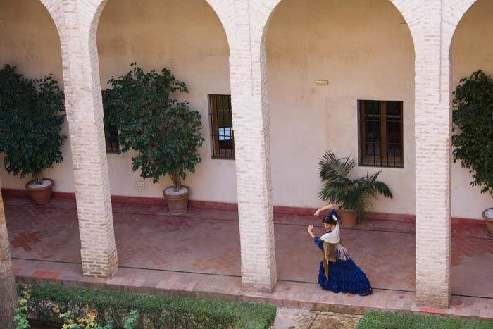 Flamenco, Palacio de los Marqueses de la Algaba, Sevilla