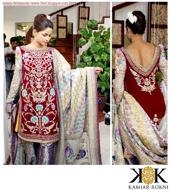Bridal Winter Dresses by Kamiar Rokni