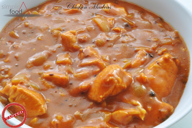 Chicken Madras ~ Simple Food