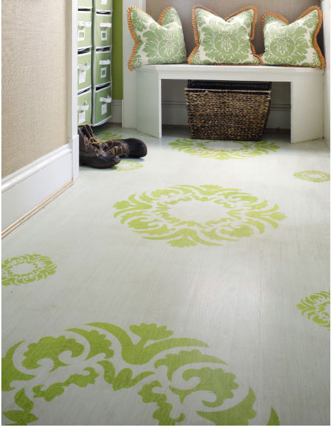 Diy painting your kids playroom or bedroom floor design for Painted vinyl floor ideas