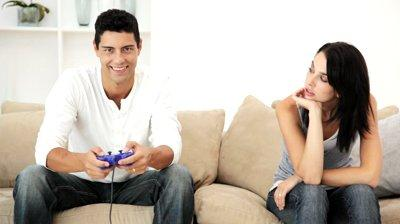 man-playing-video-games-and-ignoring-his-wife-woman - Is Just Okay Enough