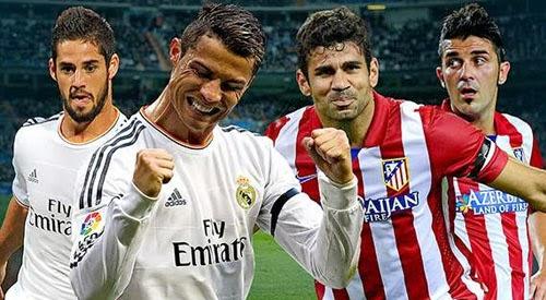 Real Madrid Vs Atletico Madrid Jadwal Live Bola Real Madrid Vs