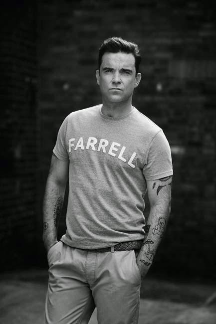 Camiseta Farrell por Robbie Williams de la colección de Primark