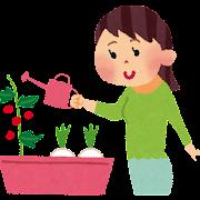 家庭菜園のイラスト