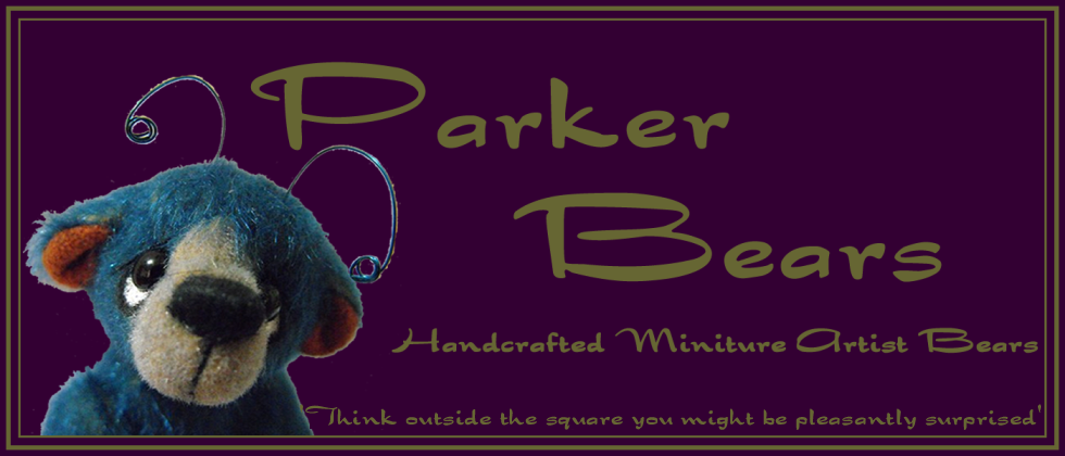 Parker Bears - Hand Made Miniature Artist Bears from Downunder