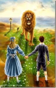 Aslan, Polly y Digory, Las Crónicas de Narnia I