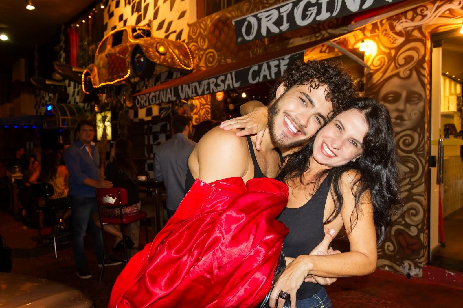 Célia Porto e Pedro Quevedo
