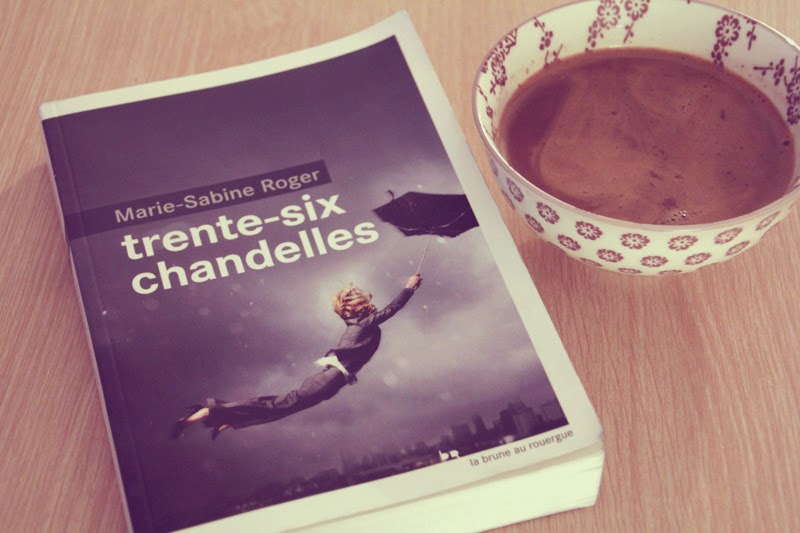 """Trente-six chandelles"" de Marie-Sabine Roger"