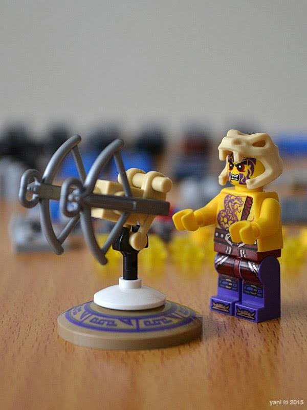 lego ninjago electromech - chope's ballista