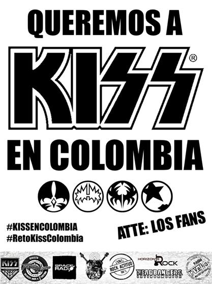 Queremos a Kiss En Colombia